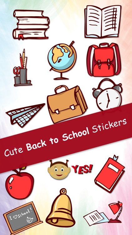 Back to School Stickers for iMessage
