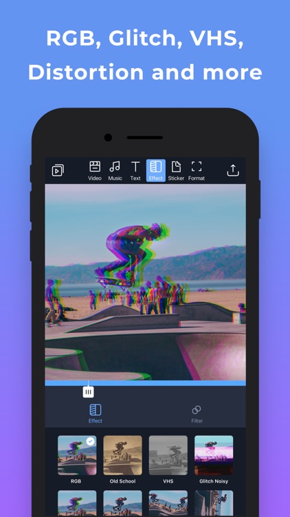 Filmr- vertical video editor screenshot-4