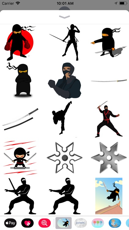 Epic Ninja Stickers
