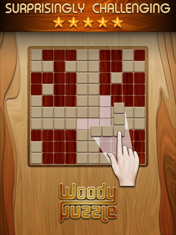 Woody Puzzle на iPad