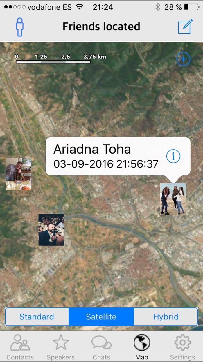 GPS Phone Tracker Find Friends Screenshot