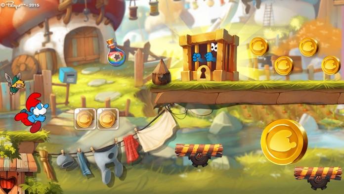 Smurfs Epic Run Screenshot