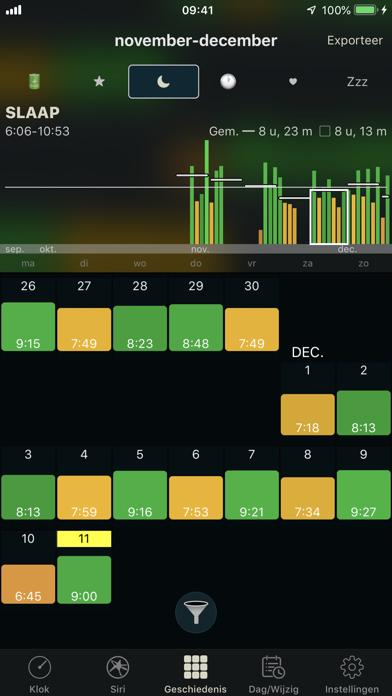 Screenshot for AutoSleep slaaptracker in Netherlands App Store