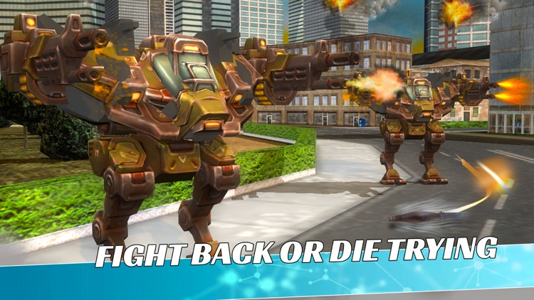 Metal Wars: Robot Fight Action screenshot-4
