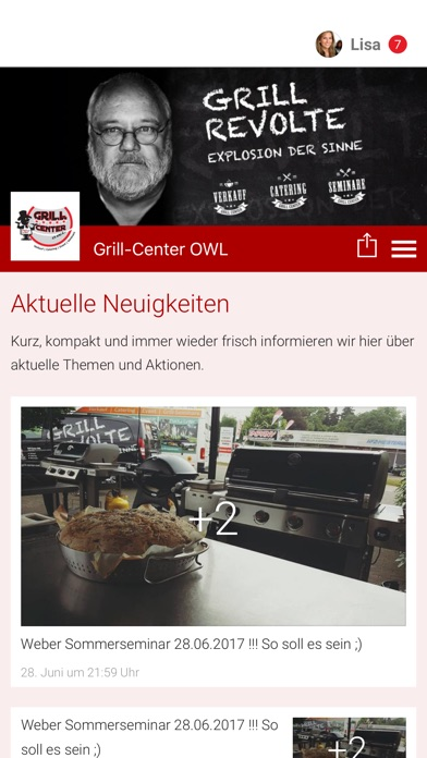 Grill-Center OWLScreenshot von 1