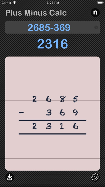 Plus Minus Calculator screenshot-4