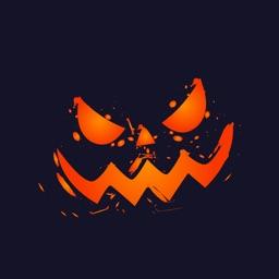 Happy Halloween Spell Sticker