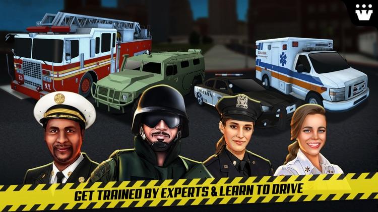 Emergency Car Driving Simulator screenshot-4