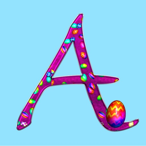 Egg Alphabet Sticker Pack