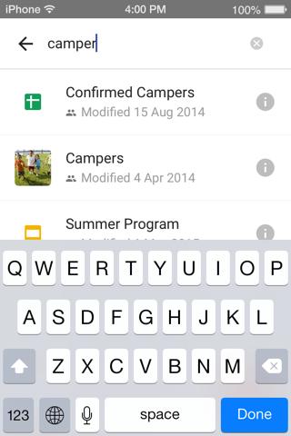 Google Drive - náhled