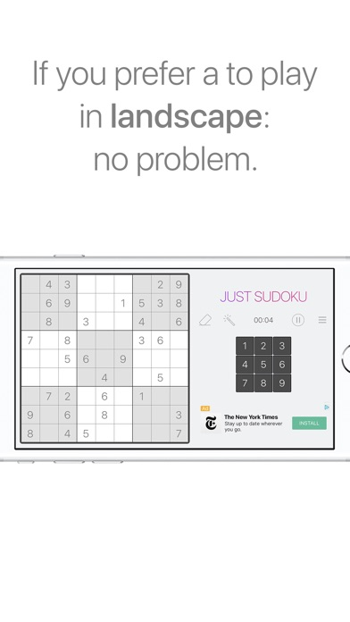 Just Sudoku: Puzzle Logic Game Скриншоты7