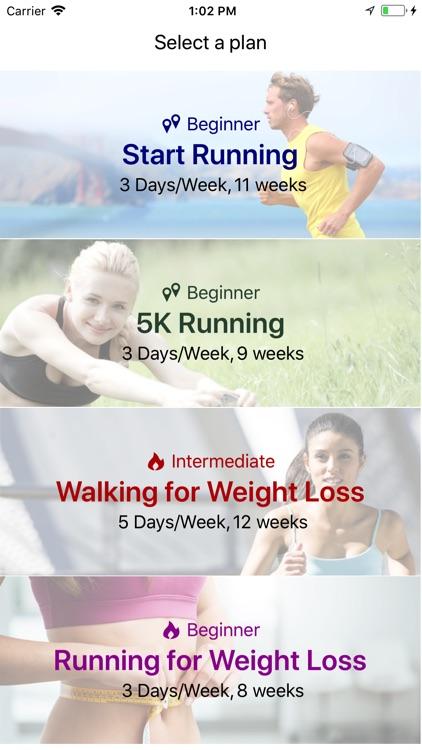 Running Walking Tracker Goals screenshot-0