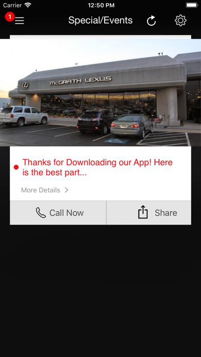 McGrath Lexus of Westmont DA screenshot four