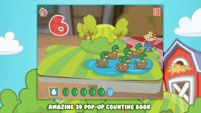 Farm 123 - Learn to count!のおすすめ画像1