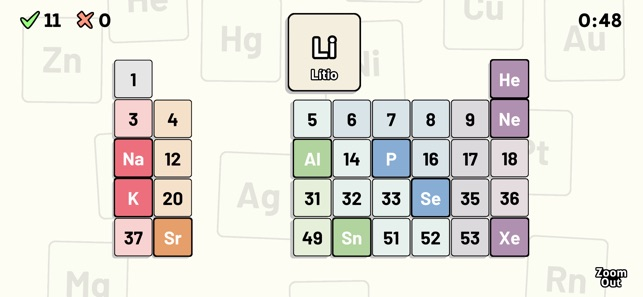 Tabla peridica quiz en app store tabla peridica quiz en app store urtaz Images
