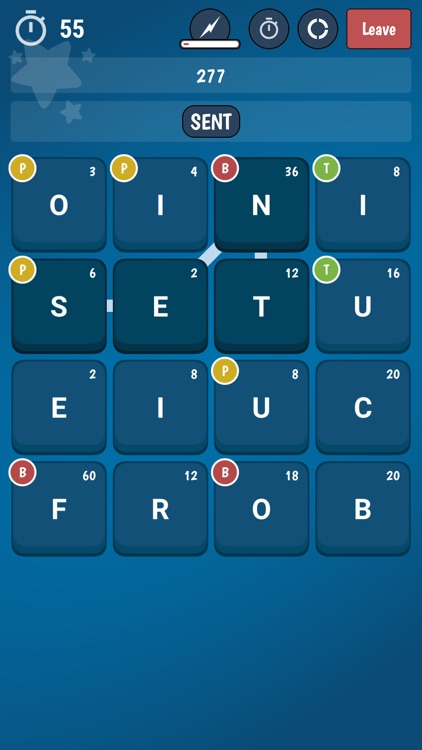 BattleWords Word Game screenshot-0