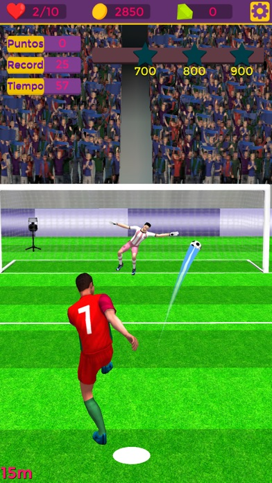 2018 Soccer Real Sports Star Screenshot on iOS