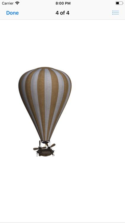 Vintage Hot Air Balloons screenshot-4