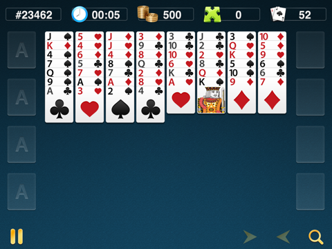 FreeCell Classics screenshot 2