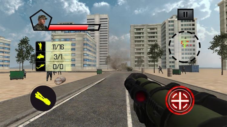 Commando Counter Attack War 3D screenshot-4