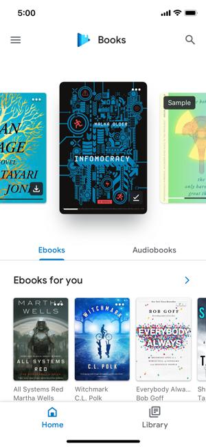 Play di ebook cara free store download