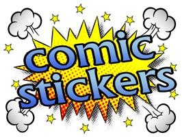 Comic stickres