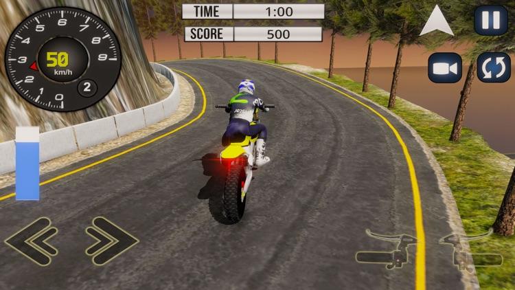 Mountain Motor-Cross Bike Sim