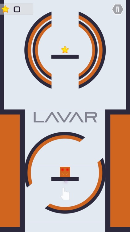 Lavar - Simple One Tap Game Addictive Challenge