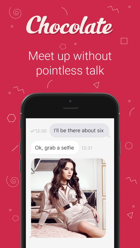 casual dating iPhone app