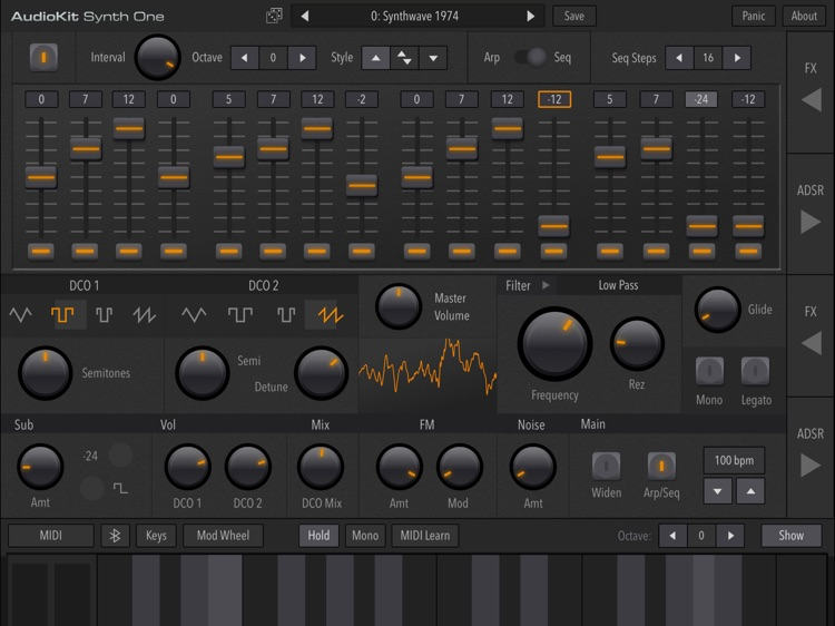 AudioKit Synth One Synthesizer screenshot-3