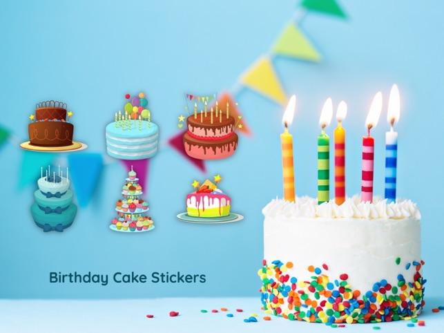 3d Happy Birthday Cake Sticker On The App Store