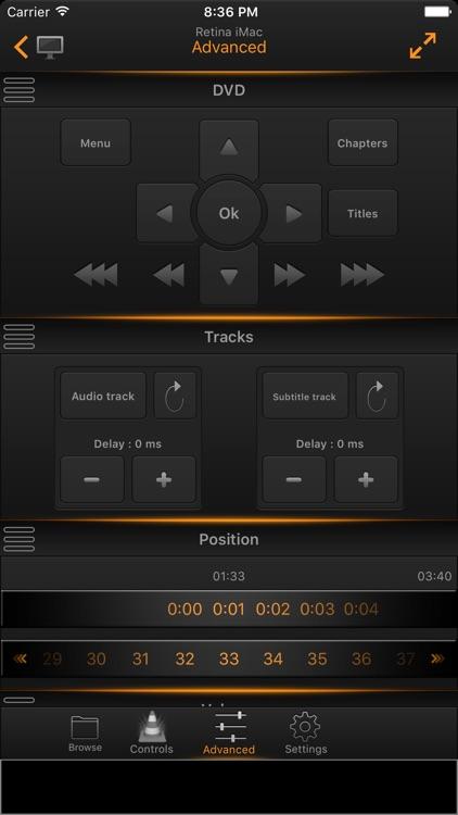 VLC Remote Lite screenshot-3