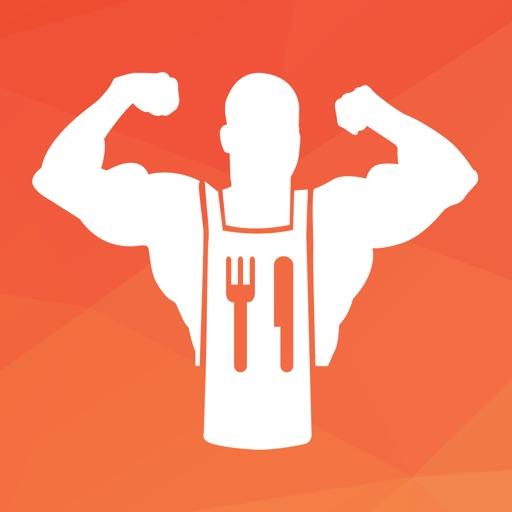 Fit Men Cook - Healthy Recipes app logo