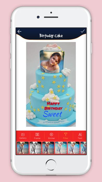 Birthday Cake With Photo screenshot three
