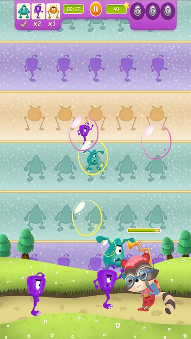 Adventure of Candy Raccoon screenshot two