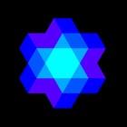 Kaleidoscope geometric Art - physical simulation icon