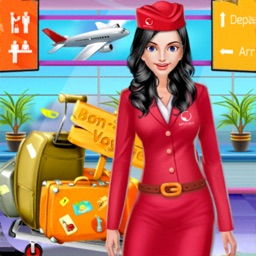 Cabin Crew Game : Girl Manager