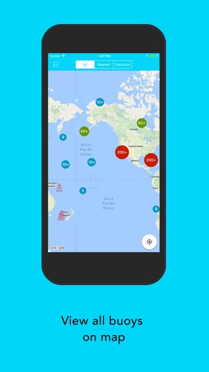 NOAA Marine Weather Forecast - Buoys Weather Data