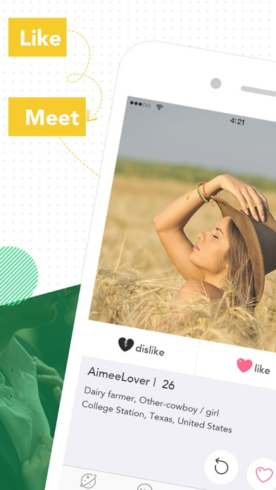 Farmers Only Online Dating App by Liangmiao Zhang (iOS, United States) -  SearchMan App Data & Information