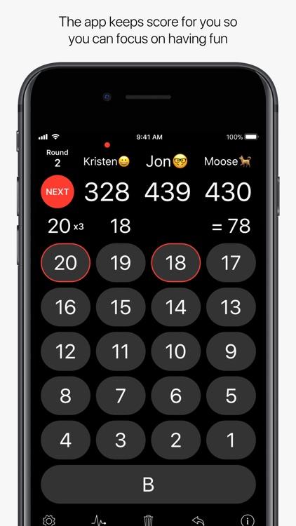 Dart Scoreboard Pro screenshot-4