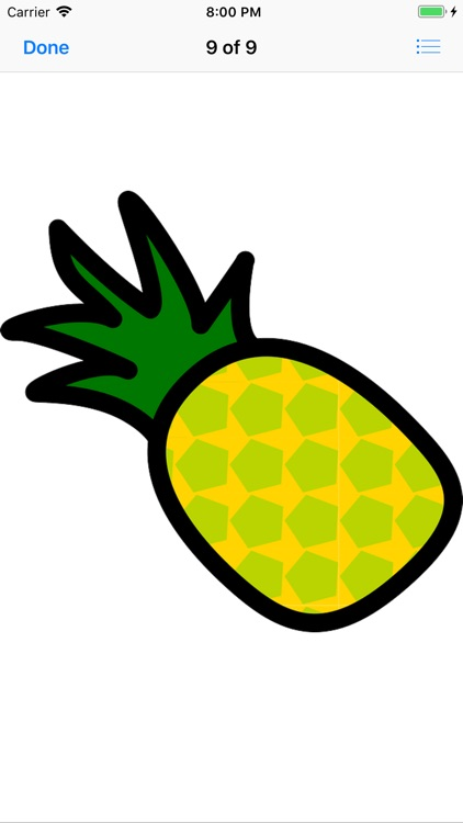Pineapple Sticker Pack screenshot-5