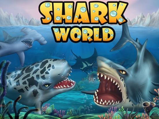 SHARK WORLD -water battle game-ipad-0