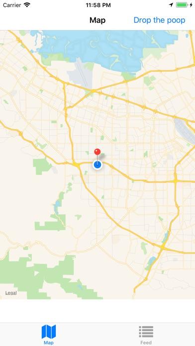 Poop Map - Pin and Track screenshot 2