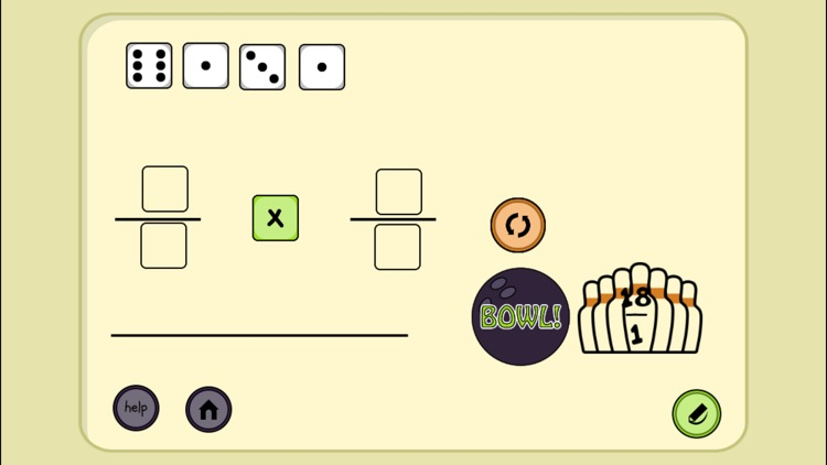 4 Dice a Fractions Game screenshot-9