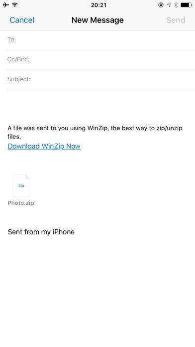Winzip review screenshots