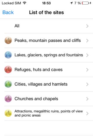 Alpes MontañasCaptura de pantalla de3