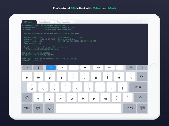 Termius - SSH client IPA Cracked for iOS Free Download