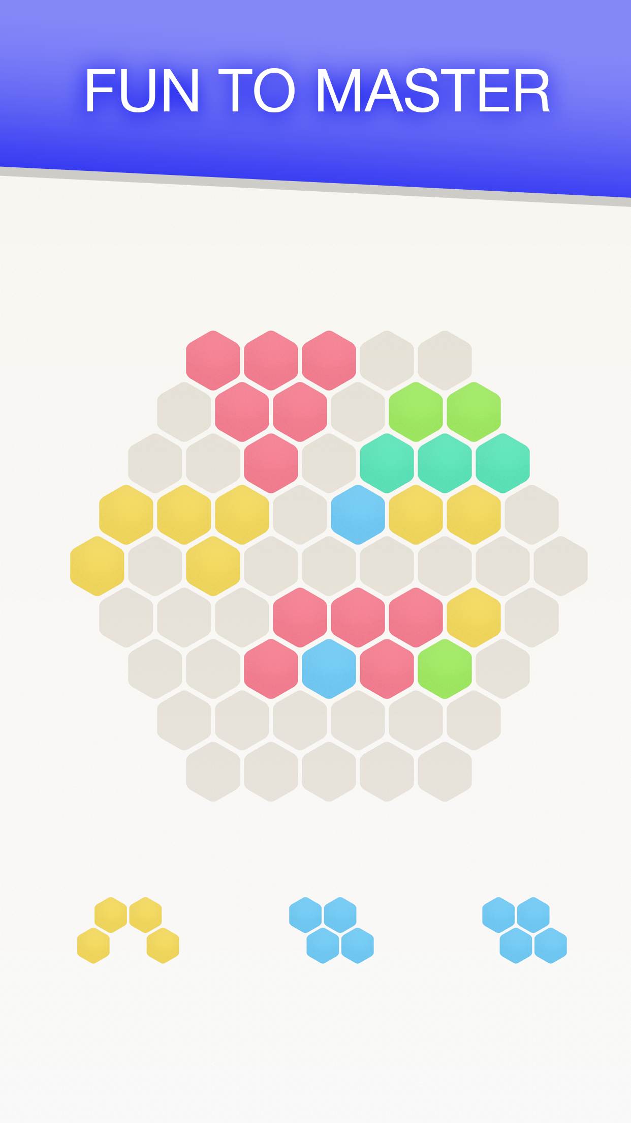Hex FRVR - Drag the Hexa Block Screenshot