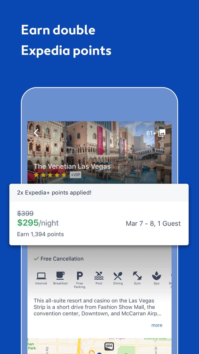Hotels & Flights - Expedia Screenshot