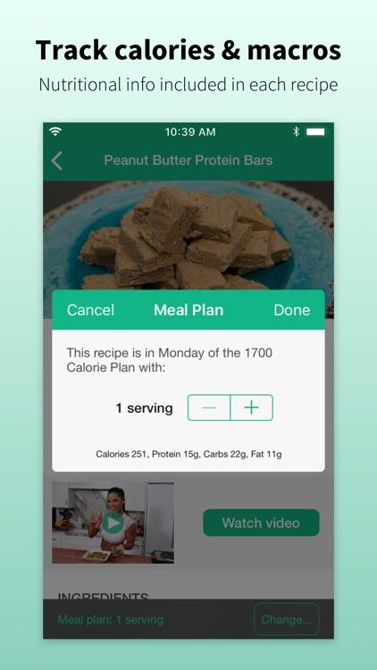 Mealplan by Michelle Lewin screenshot-3